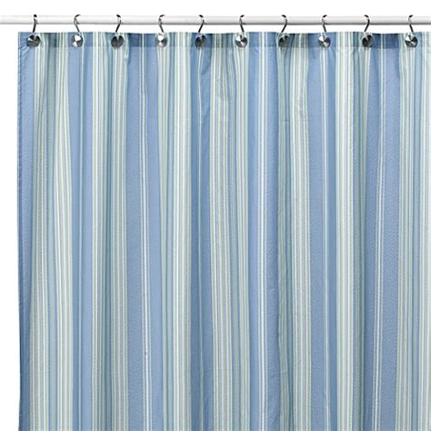 stripe shower curtains buy striped bath shower curtains from bed bath beyond