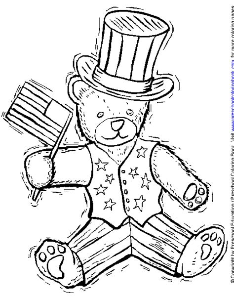 patriotic coloring pages preschool www preschoolcoloringbook com 4th of july flag day