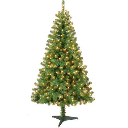colorado pine or aster pine artificial christmas tree time pre lit 6 colorado pine artificial tree clear lights walmart