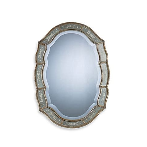 fifi mirror in the bathroom uttermost fifi wall mirror bed bath beyond