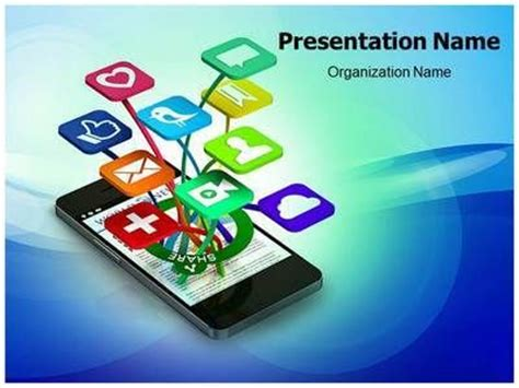 mobile ppt themes free download 31 best images about communication powerpoint templates on