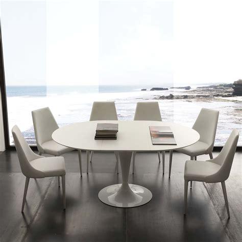 tavolo da pranzo rotondo tavolo da pranzo rotondo allungabile bianco sulevi