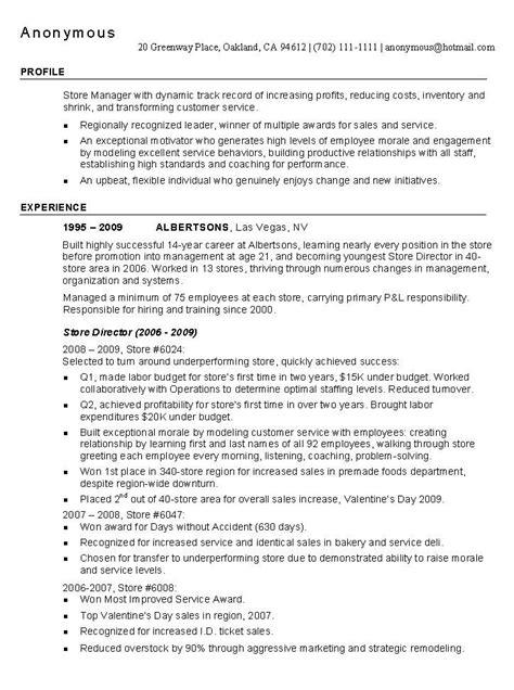 helpful resume tips retail resumes exles 1205 http topresume info 2015