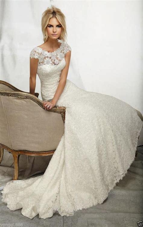 ivory colored wedding dress  older  time bride