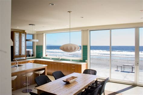 modern beach decor contemporary beach house beach style kitchen san