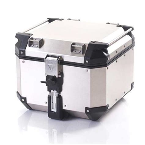 Expedition E6672 Silver 2 expedition aluminum silver top box a9500530 triumph motorcycles
