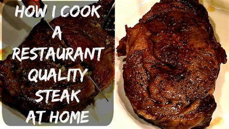 how to cook ribeye steak in oven