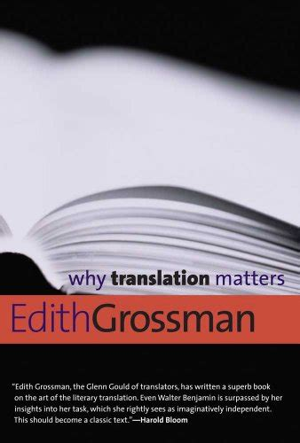 translation matters books translation five books