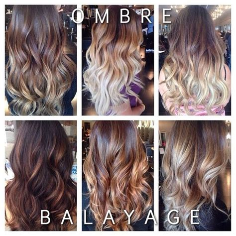 The Difference Between Foiling Balayage Ombre And The   balayage and ombre difference www imgarcade com online