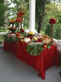 Buffet Table Cloths Tropical Paradise Buffet 91 Stunning Tablescapes You Won