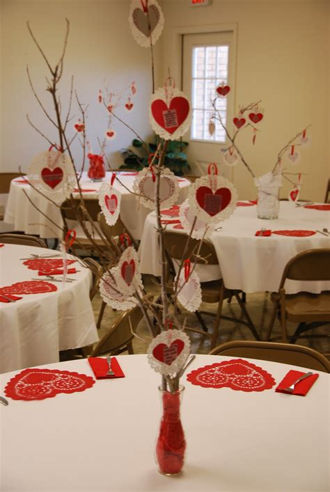 valentine table decorations shine like stars valentine s banquets for the young and