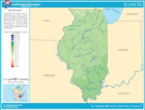 illinois physical map illinois mountains map swimnova