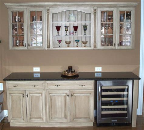 Refinishing Painted Kitchen Cabinets | any color you like photo gallery