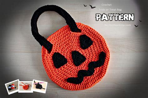 crochet pattern halloween bag halloween crochet pdf patterns 171 zoom yummy crochet