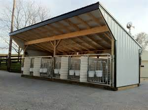 calf sheds images search