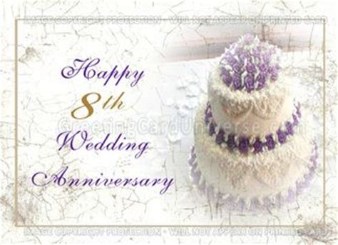 8th wedding anniversary cards 36 best images about anniversary wishes on