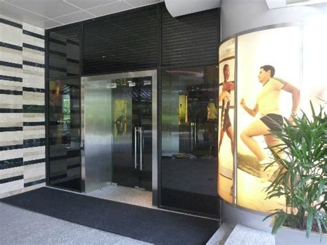 Gym Exterior Entrance Picture Of Pan Pacific Singapore Front Door Fitness