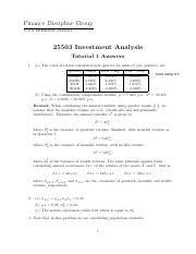 IA tutorial Answers.pdf - Finance Discipline Group UTS