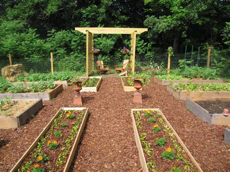 Kitchen Garden Layout The Easy Kitchen Garden