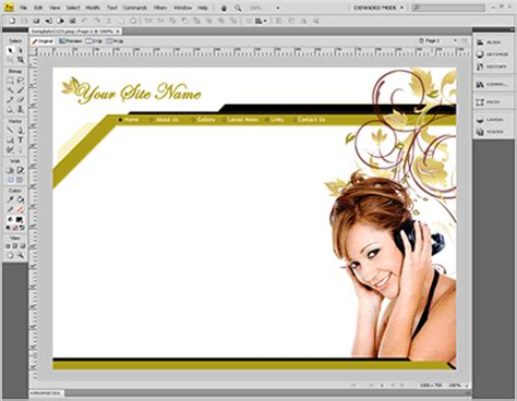 weaver template powerpoint templates free dreamweaver template