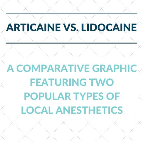Post Dental Lidocaine Detox by By The Numbers Articaine Vs Lidocaine The Cusp