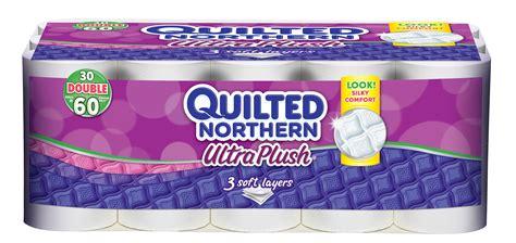 quilted northern ultra plush bathroom tissue  sheetroll  ply  rollspk shop
