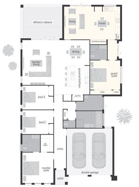 Duo Dual Living Floorplans Mcdonald Jones Homes | duo dual living floorplans mcdonald jones homes
