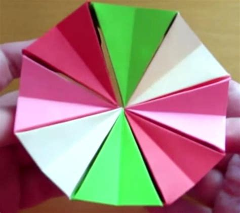 How To Make A Origami Magic Circle - origami magic circle origami