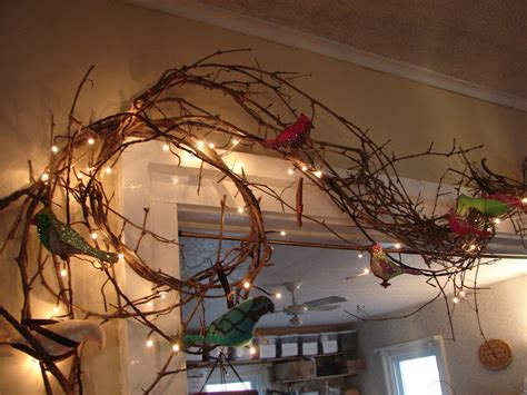 grapevine with lights for decorating primitive garlands on pinterest garlands banisters and