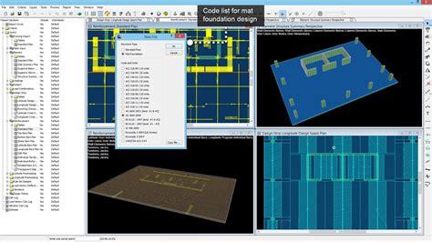 slab layout software post tensioned reinforced concrete slab design software ram