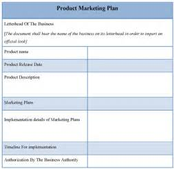 Marketing Plan Template by Product Template For Marketing Plan Template Of Product