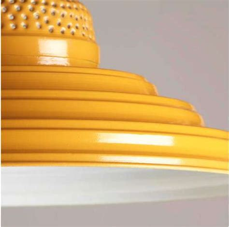 yellow light fixture radiant rippled light fixtures yellow punched metal