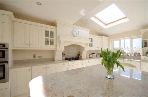 stunning ivory painted kitchen with kashmir white granite kitchen index