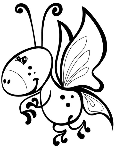 cartoon butterfly coloring pages az coloring pages
