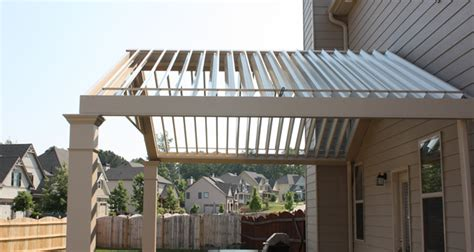 Roof Louvers Back Patio Attached Louvered Roof Patio Louvered Roof