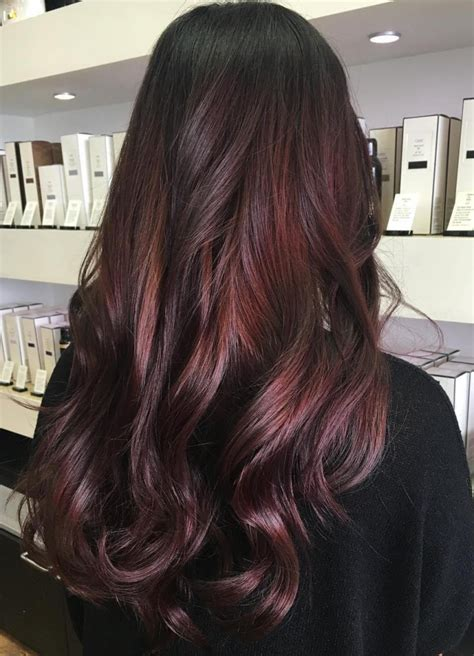 burgundy brown hair color pictures burgundy brown hair color with highlights hairstyle hits