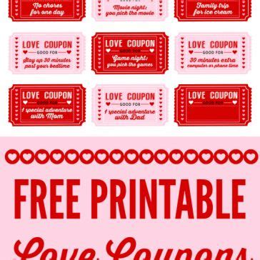 black and white printable love coupons 265 best images about free craft pdf downloads on