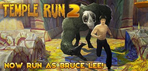 bruce lee android game mod apk temple run 2 adds bruce lee as playable character gamespot