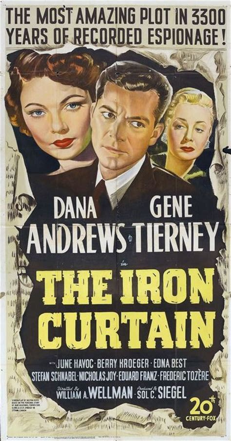 the iron curtain movie gene tierney movie page the iron curtain 1948