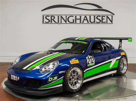 Porsche Cayman Race Car For Sale by 2011 Porsche Cayman S Race Car Isringhausen Motorsports