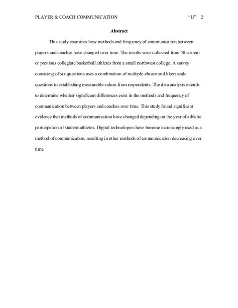 research paper on austen communication research paper sle