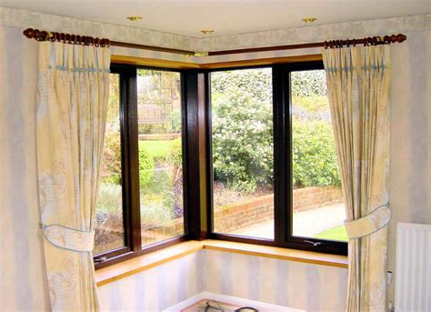 corner windows corner window curtains styles of decorating ideas homesfeed
