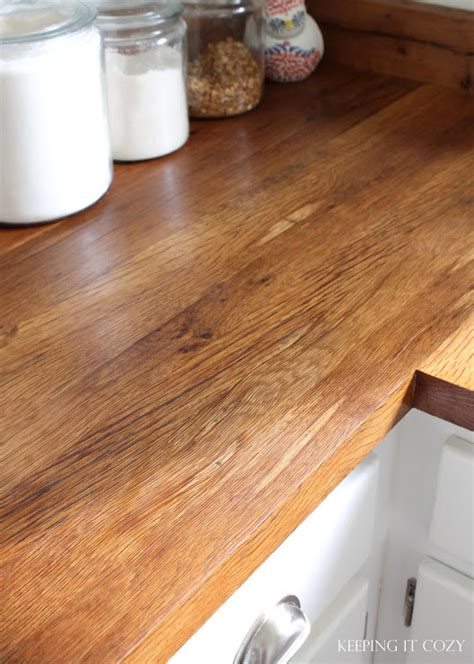 Rustic Red Kitchen Cabinets remodelaholic diy butcher block amp wood countertop reviews