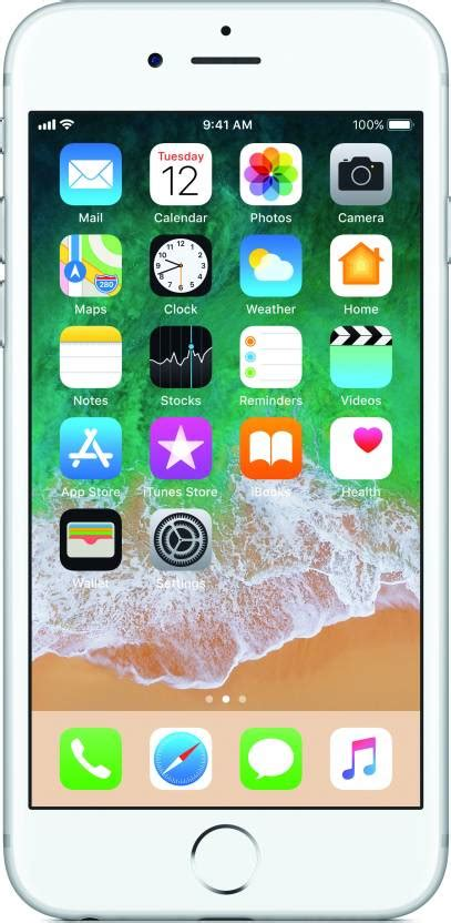 Apple Iphone 6s 32gb Silver iphone 6s silver 32 gb mobile phone at best