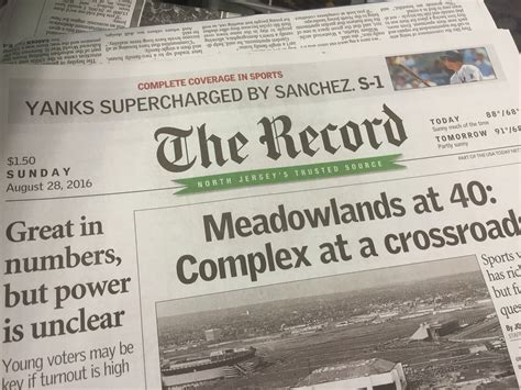 the record newspaper new jersey gannett announces new leadership at the record n j s 2nd