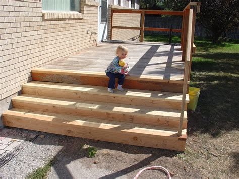 Pictures Of Home Decorations Ideas building deck stairs in simple way 187 home decorations insight