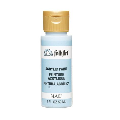 light blue acrylic paint folkart 2 oz light blue acrylic craft paint k402 the