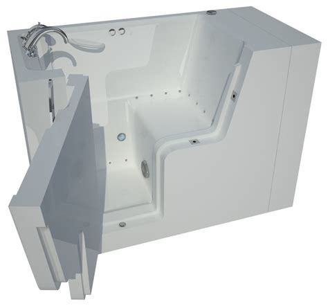 wheelchair accessible bathtubs 29 x 53 left drain air jetted wheelchair accessible walk