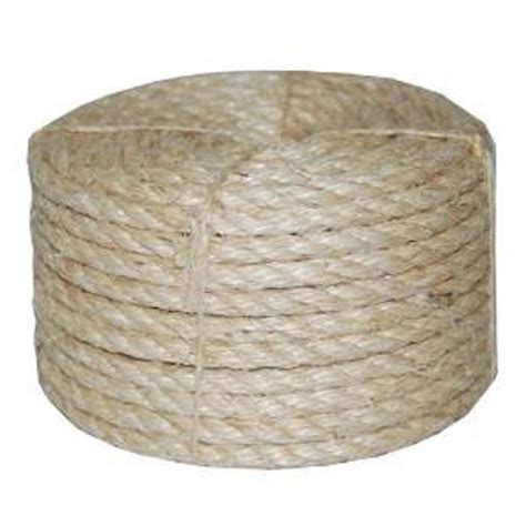 everbilt 3 4 in x 150 ft twisted manila rope