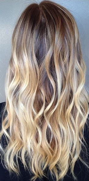 brunette to blonde ombre images hair color envy bronde mane interest